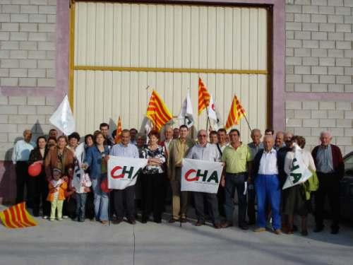 Mitin en Torralba de Ribota para las elecciones municipales de 2007