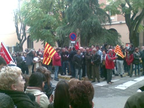 Manifestación de Calatayud